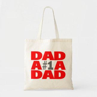 #1 Dad Budget Tote Bag