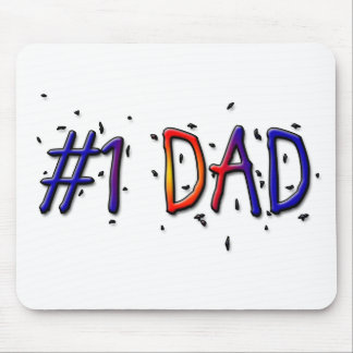 #1 Dad Father's Day Mousepad