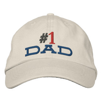 #1 dad hat stitched