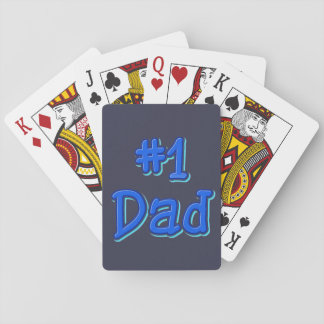 #1 Dad Playing Cards