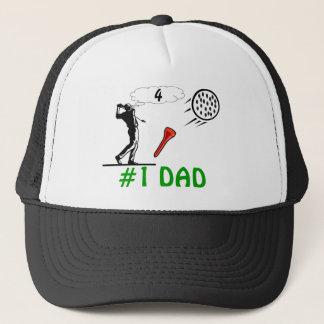 #1 dads golf hat