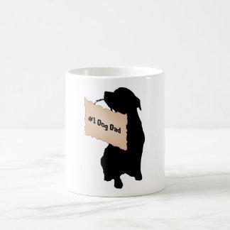 #1 Dog Dad Mug