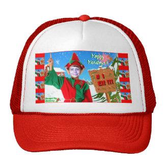 # 1 Elf Happy Holidays hat