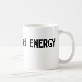 +1 Energy Coffee Mug