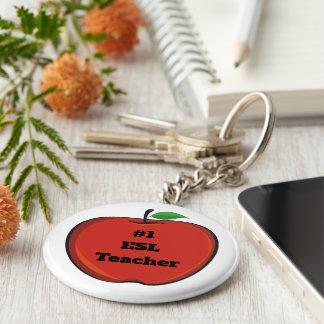 #1 Esl Teacher Key Ring