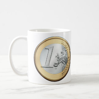 1 Euro Coin Coffee Mug