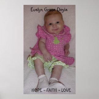 1, Evelyn Grace Doyle Poster