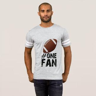 #1 Fan Football Tee