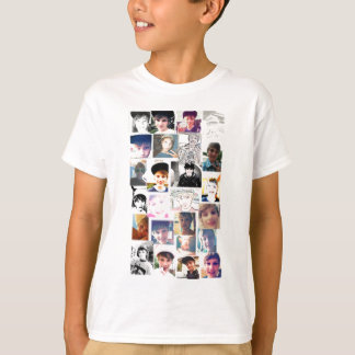 #1 Fan Picture Collage T-Shirt