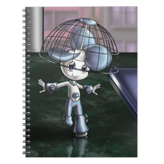 #1 Fan Spiral Photo Notebook (80 Pages B&W)