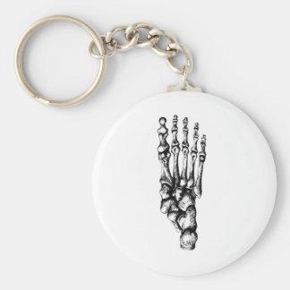 1 Foot Up Key Ring