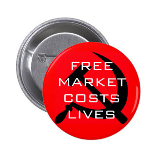 1, FREE MARKET COSTS LIVES PINS