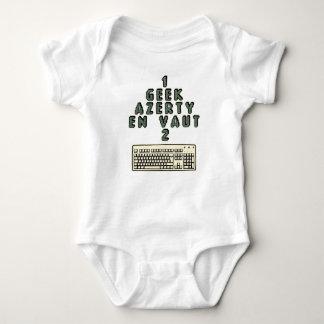 1 GEEK AZERY is worth 2 of them - Plays of motsT Baby Bodysuit