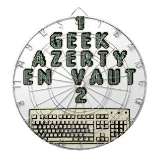 1 GEEK AZERY is worth 2 of them - Plays of motsT Dartboard