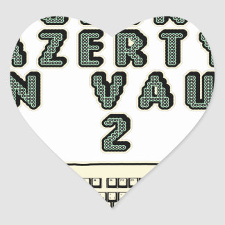1 GEEK AZERY is worth 2 of them - Plays of motsT Heart Sticker
