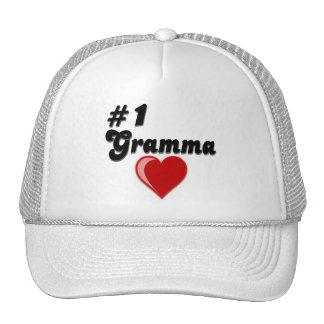 1 Gramma Grandparent s Day Trucker Hats