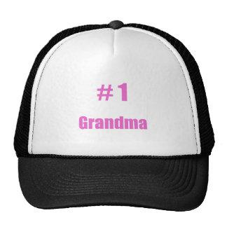#1 grandma cap