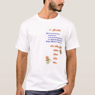#1 GrandMa Mothers Day 2005 Front T-Shirt