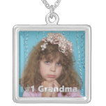 #1 Grandma Personalised  Photo Necklace
