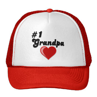 #1 Grandpa - Grandparent's Day Cap