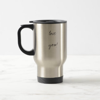 # 1 grandpa!, love  you!, love you! travel mug