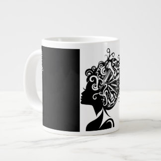 #1 Hairstylist Jumbo Coffee Mug