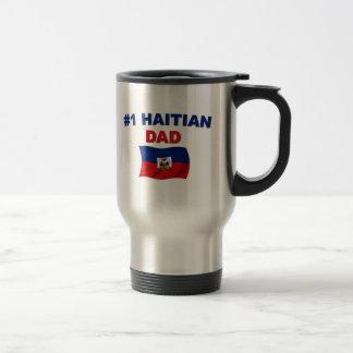 #1 Haitian Dad Travel Mug