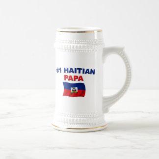 #1 Haitian Papa Coffee Mugs