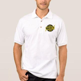 1 Hockey Dad black gold Tshirts