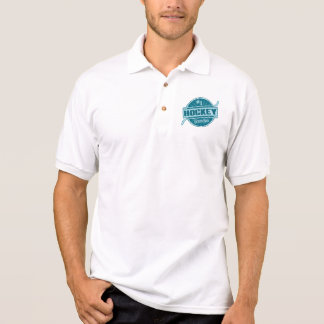 #1 Hockey Grandpa Polo Shirt