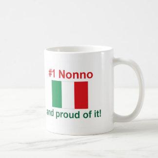 #1 Italian Nonno Coffee Mug