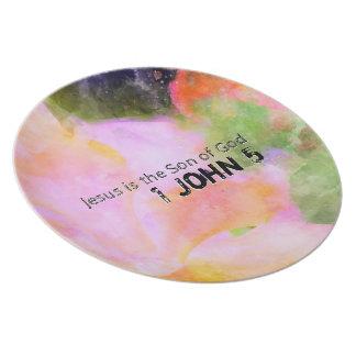 1 John Chapter 5 Plate