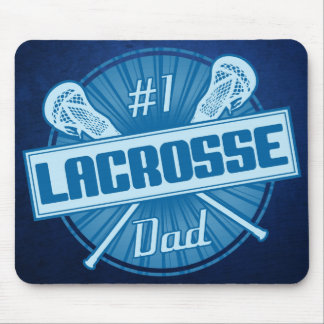 #1 Lacrosse Dad Mouse Pad