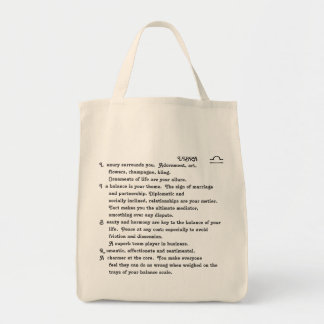 1-LIBRA Sept 23-Oct 22 tote bag