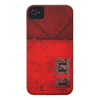 1 Life blackberry cover iPhone 4 Cover