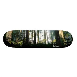 1, Lithium Skateboard Deck