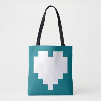 +1 live tote bag