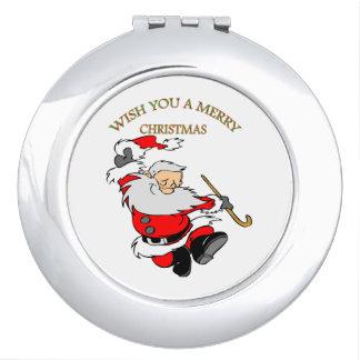 1 MERRY CHRISTMAS MAKEUP MIRROR
