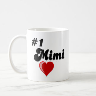#1 Mimi Coffee Mug for Grandparent's Day