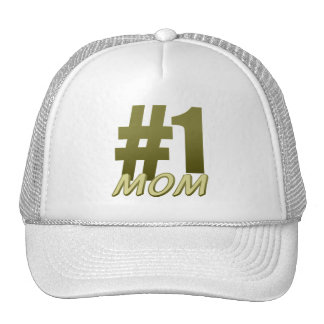 #1 Mom Mother's Day Cap