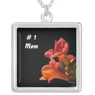 # 1 Mom Silver Necklace