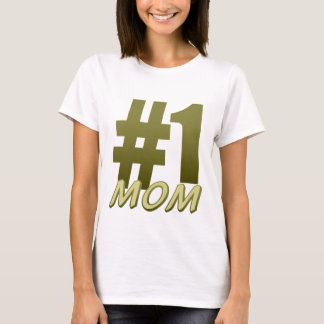 #1 Mum Mother's Day T Shirt