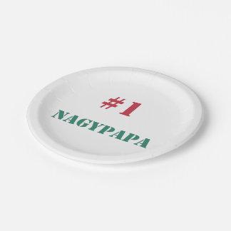 #1 Nagypapa Paper Plate