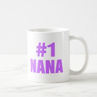 #1 Nana Basic White Mug