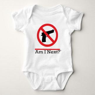 1-No_pistol-gun Baby Bodysuit
