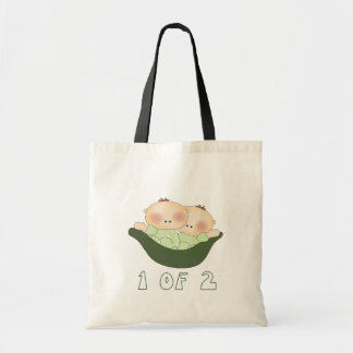 1 of 2 Twins Tote Bag
