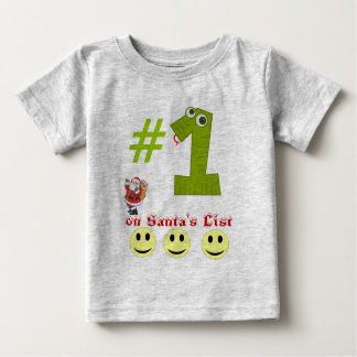# 1 on Santa's List Toddler's Tee