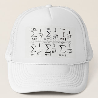 """""""1-over-nsquared"""" trucker hat"""