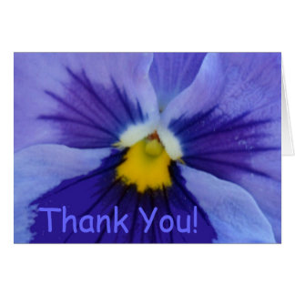 1 Pansy Blue Beauty Greeting Cards