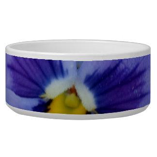 1 Pansy Blue Beauty Pet Food Bowl